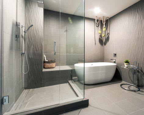 Modern Master Bath Remodel Heidi Mendoza