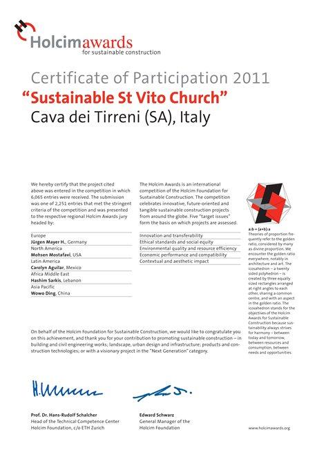 Sustainable St. Vito Church