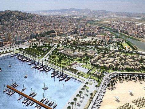 Porto Turistico MarinadiCaladelsole Licata- Progettisti arch. Amedeo Strada e ing Angelo Mistretta