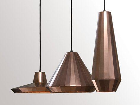 Copper Lights David Derksen Design