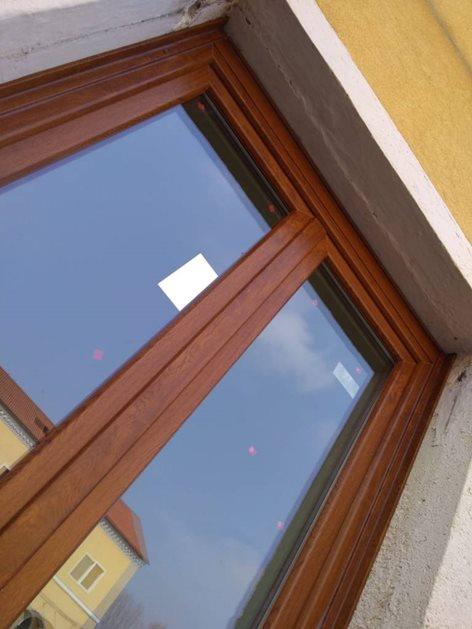 Infissi e serramenti in pvc finitura legno