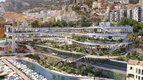 Project of the site of Fontvieille