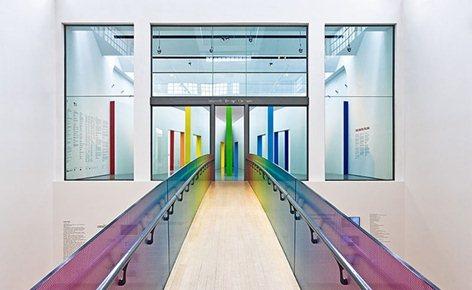 """Ponte di accesso al """"Triennale Design Museum"""""""