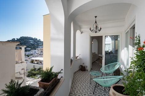 Gouache House | Capri Island