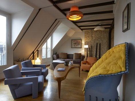 Duplex in Paris