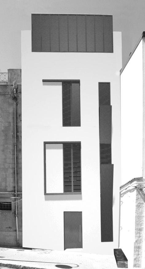 Riqualificazione di una palazzina indipendente in centro storico