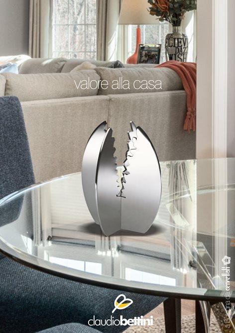 Centrotavola design moderno. Claudio Bettini.
