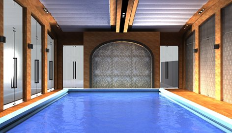 Covered Swimming pool | Archi & Luxury Middle East