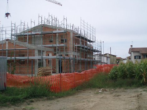 coordinamento sicurezza per costruzione edificio residenziale unifamiliare