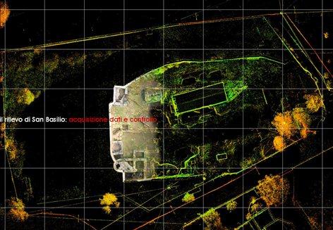 Rlievo Laser Scanner 3D del Complesso Termale di S. Basilio (CA)