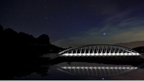 Ponte sul fiume Serchio