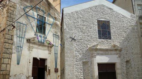Direzione dei Lavori per il Restauro Facciata chiesa del Transito di Favara