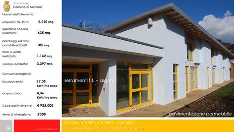 Scuola dell'infanzia rione Sorbo in Montella (Av)