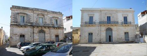 restauro palazzo pinto