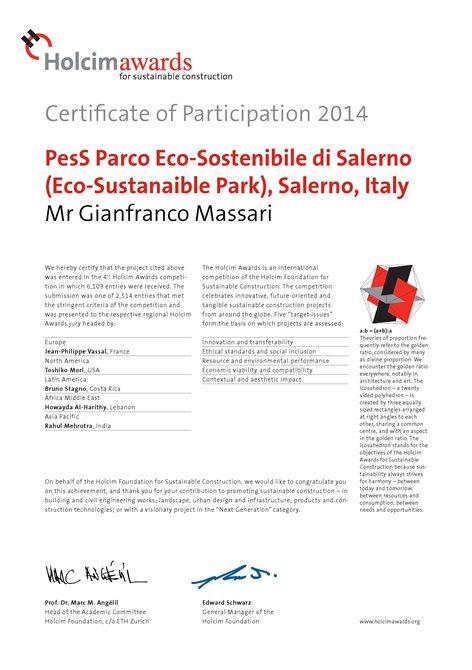 PesS - Il Parco eco-sostenibile di Salerno