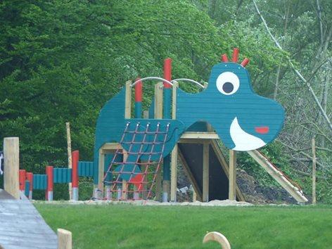 Gioco Dinosauro per parco giochi