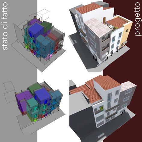 Intervento di riqualificazione urbana in centro storico