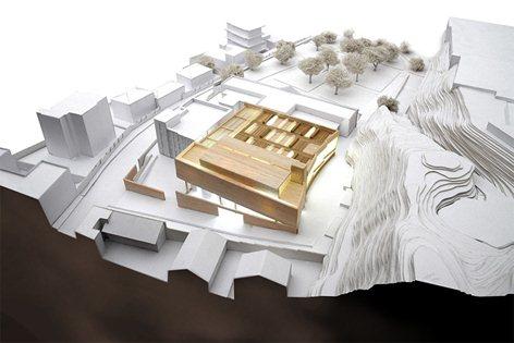 Ampliamento Galleria d'Arte con Riqualificazione dell'Area Pertinente.