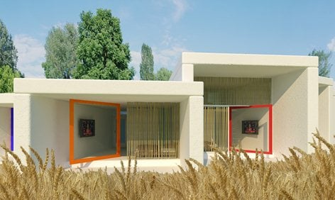 Case ecologiche in struttura di paglia