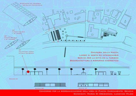 riorganizzazione piazza caricamento_genova