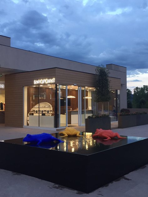 Infopoint Torino Outlet Village | Noel Formica