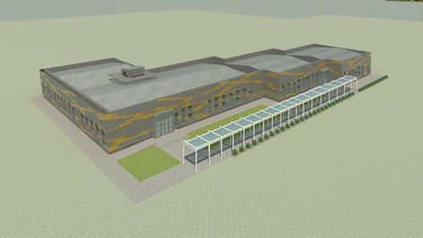 Progetto di ristrutturazione e ampliamento dei laboratori SMAT Spa delle acque reflue Castiglione T.se
