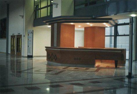 Isola Reception nell'Ospedale Nuovo di Matera