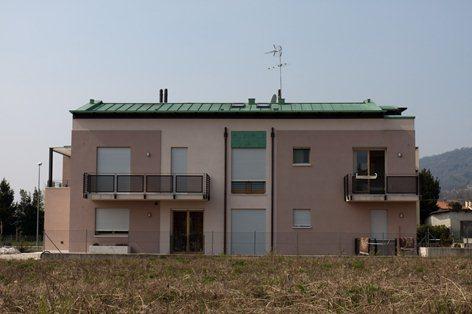 Edificio residenziale bioedile ad alto risparmio energetico