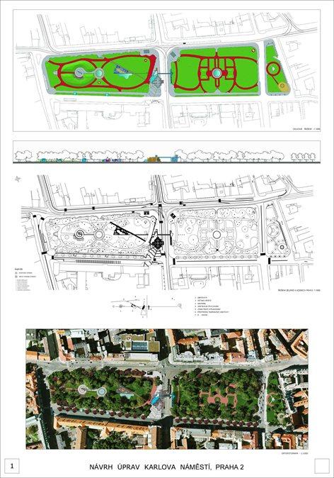 Riqualificazione della piazza  Karlova a Praga