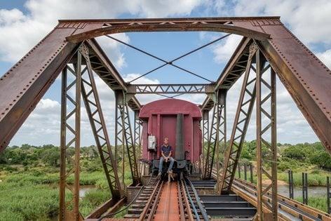 Kruger Shalati - The Train on the Bridge