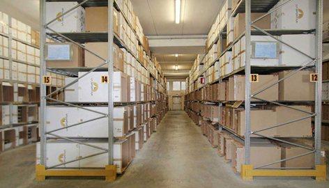 Block Sistem Scaffalature.Scaffalature Metalliche Per Magazzini E Archivi Block