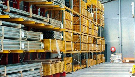 Block Sistem Scaffalature.Scaffalature Cantilever Block Sistem Centro Metalsistem Srl