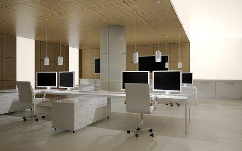 Rivestimento ed arredamento interno Control Room