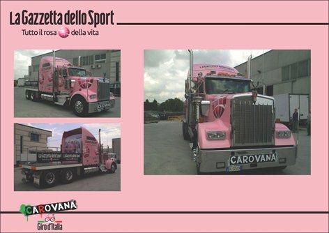 Truck Gazzetta dello Sport