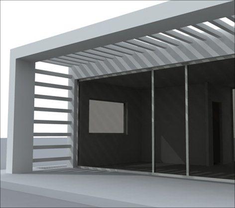Progetto di una residenza privata.