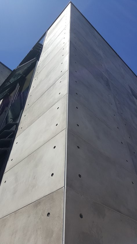 Exterior Facade Cladding With Cretox