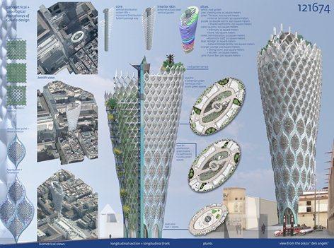Vortex Tower in Barcellona