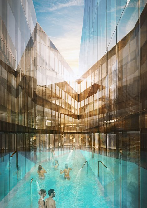 New Thermal Baths and Wellness Centre