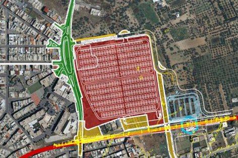 Riqualificazione urbana ed ambientale - area mercatale  e connesse infrastrutture in via Bisceglie