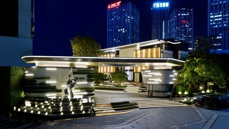 Guangzhou THE ONE Property Landscape for the Show Flat | Cøzzare PR