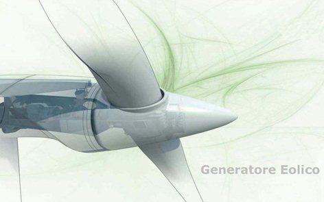 Prototipo di generatore eolico