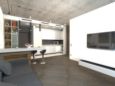 Small loft apartment | ArchBureau «2A»