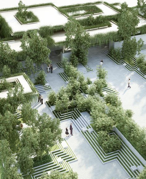 Magic Breeze Landscape Design Penda China