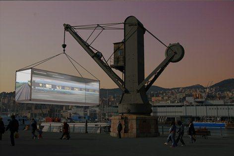 Simbolo Urbano dedicato al Container
