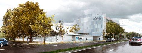 SGR Multifunctional building