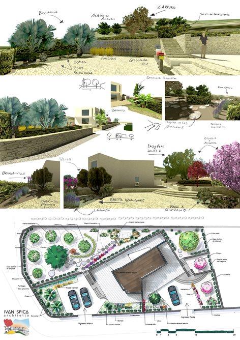 Architettura del verde per Villa Laurum