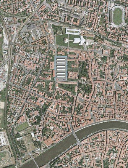 Riqualificazione urbanistica del complesso ospedaliero universitario di Santa Chiara