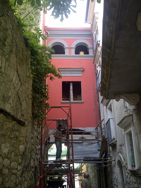 Ristrutturazione, risanamento e restauro di palazzo nobiliare