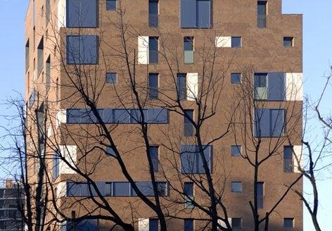 Edilizia residenziale convenzionata e libera, edificio per uffici