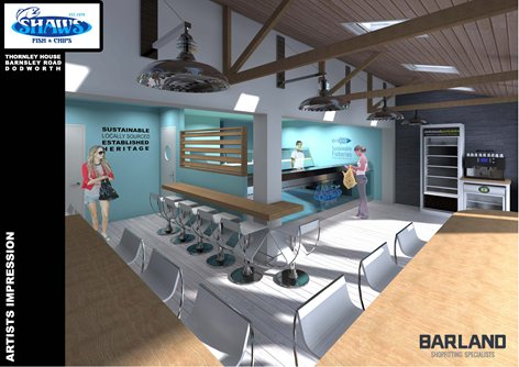 Project To Show The New Renovation Of Fish And Chip Shops John Barlow
